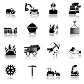 Coal Industry Icons
