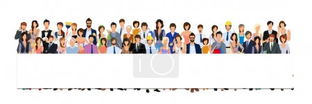 Group people banner