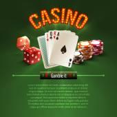 Pocker casino background