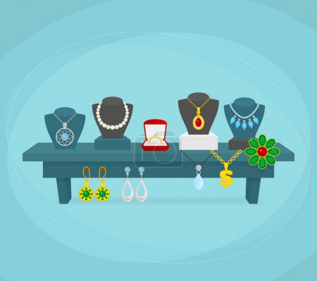 Jewelry display concept