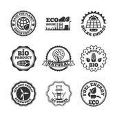 Eco energy labels set