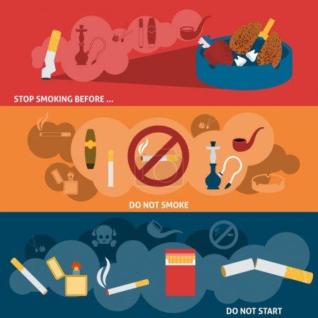 Bannière de fumoir