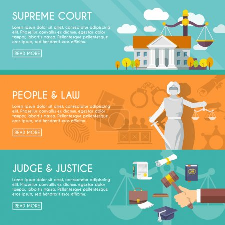 Supreme court judge and blindfolded justice with s...