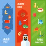 Постер, плакат: Arabic Culture Banner