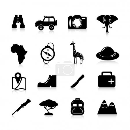 Safari Icons Black