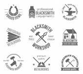 Blacksmith Label Set