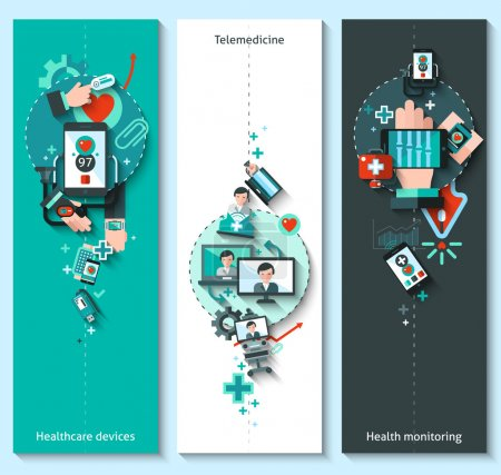 Digital Medicine Banners Vertical