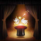 Magic Trick Background