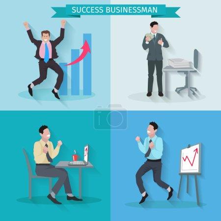 Successful Businessman Set