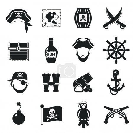 Golden age pirate adventures toy accessories picto...