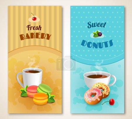 Bakery Banner Set