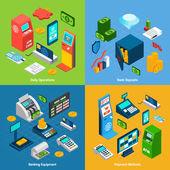 Isometric Banking Set