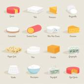 Cheese Icon Flat