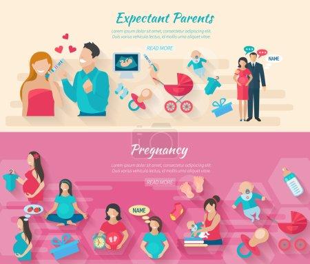 Pregnancy Banner Set