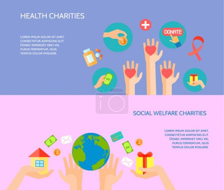 Health and social welfare charities site for donat...