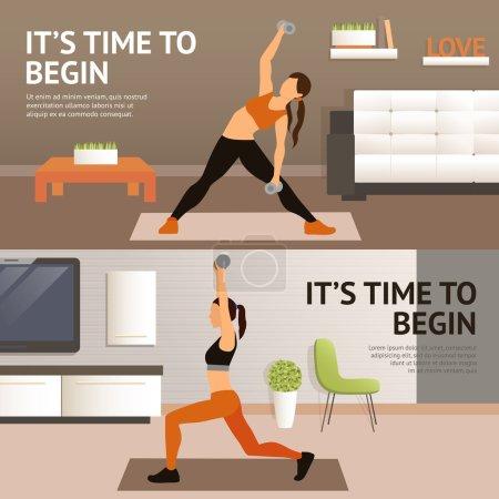 Woman Home Workout