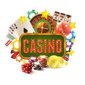 Casino Frame Illustration