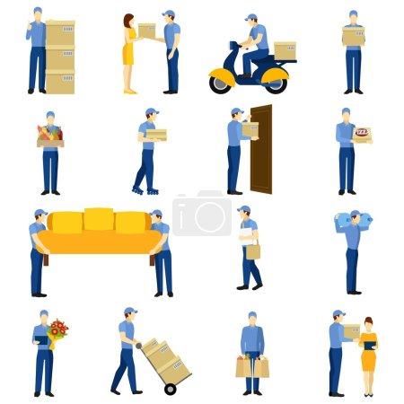 Delivery Man Set