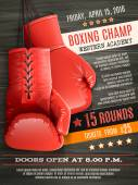 Gloves Boxing Poster