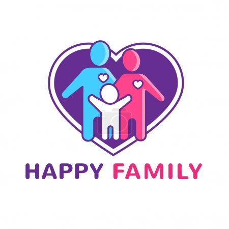 Family Logo Illustration