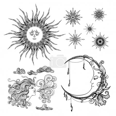Stars Moon And Wind