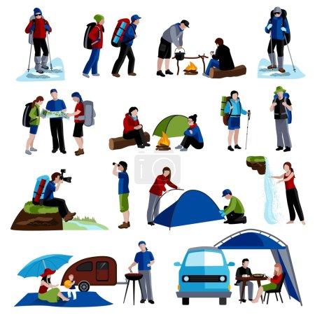 Camping Icons Set