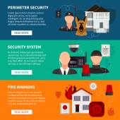 Home Security Horizontal Banners