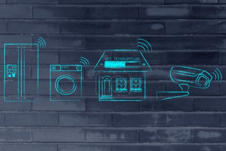 concept of home automation and internet of things