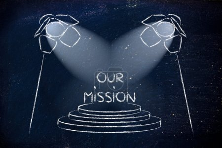spotlights on business success, our mission