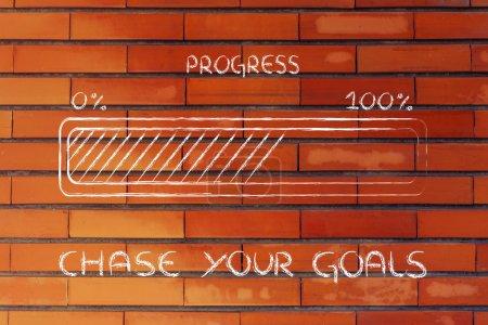 progress bar metaphor, speed up your progress