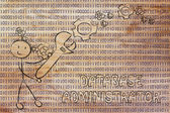 Férfi bináris kód kulcs beállítása