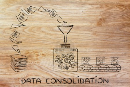 concept of data consolidation