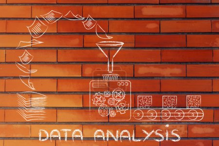 concept of data analysis & business intelligence