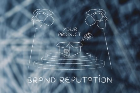 concept of Brand reputation