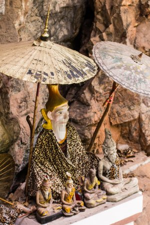Thai hermit statue