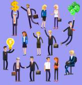 Vector detailed characters people business