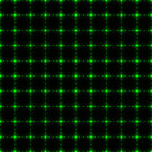 Green dotted net seamless background)