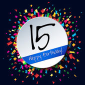 15 Happy Birthday background