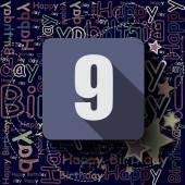 9 Happy Birthday background