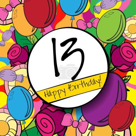 13 Happy Birthday background