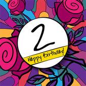2 Happy Birthday background