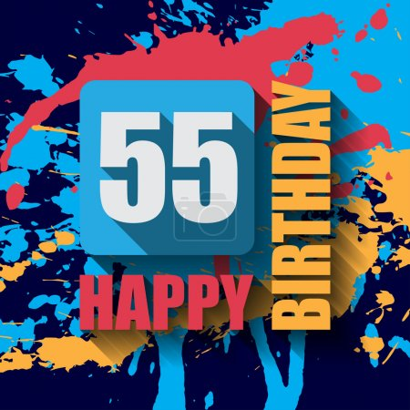55 Happy Birthday background