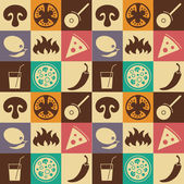 Pizza  icons set   Useful for restaurant identity packaging menu design and interior decorating