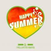 Happy summer background