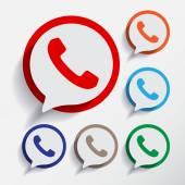 Soubor ikony telefonu