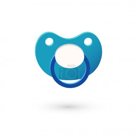 pacifier, soother icon