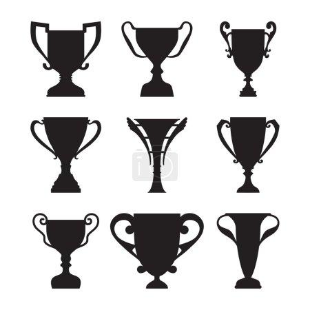 Winner Trophy Cup Silhouette