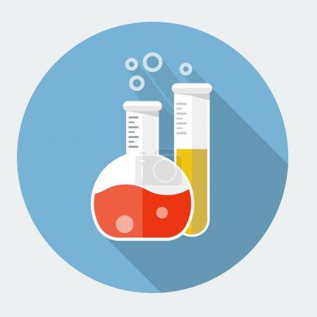 Illustration for Vector laboratory glassware icon - Royalty Free Image
