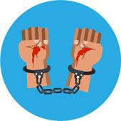 Vector Bloody Murderer Hands