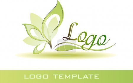 Illustration for Natural logo template - Royalty Free Image